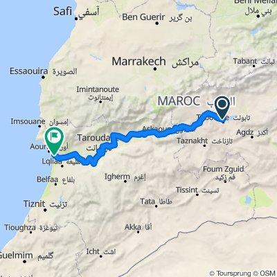 ouarzazate - Agadir