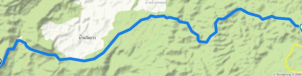 Restful ride in Tambon Nam Nao