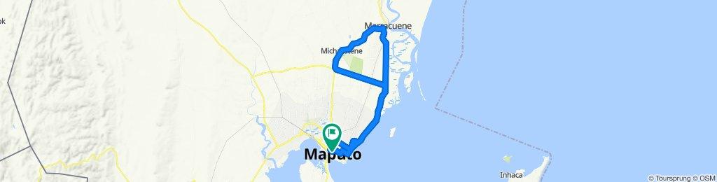 Itinéraire sportif en Maputo
