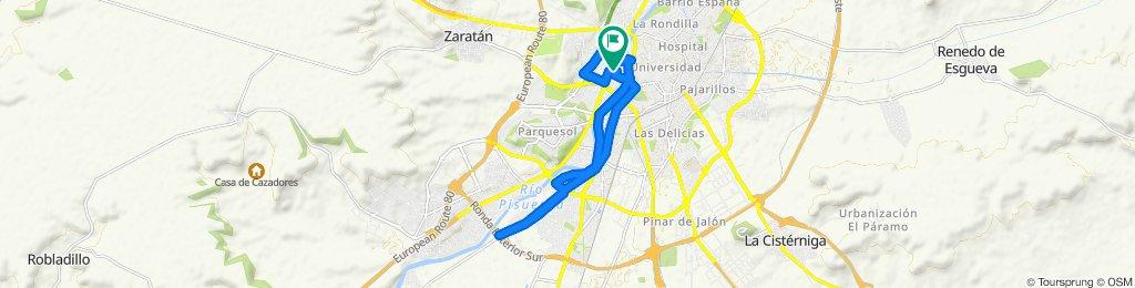 Ruta tranquila en Valladolid