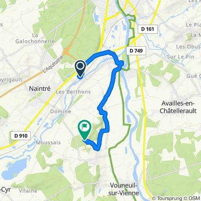Itinéraire modéré en Vouneuil-sur-Vienne