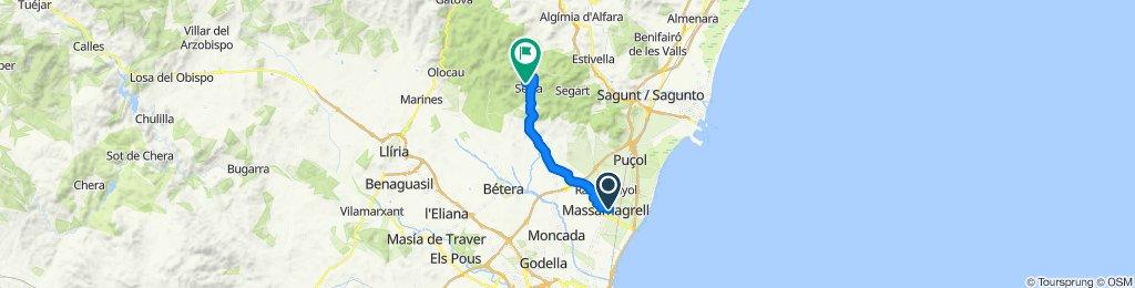 via xurra a  Serra
