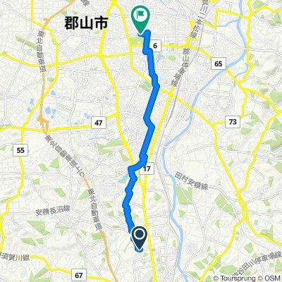 Steady ride in Koriyama
