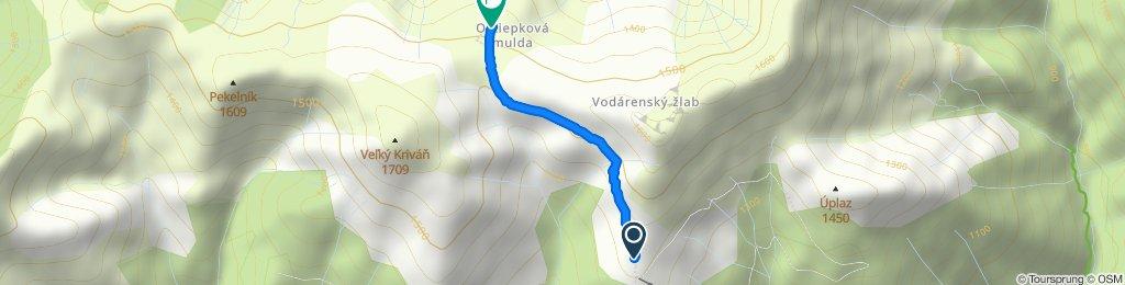 Stredná trasa Terchová