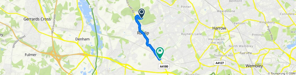 Fast ride in Ruislip