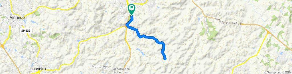 Passeio rápido em Itatiba