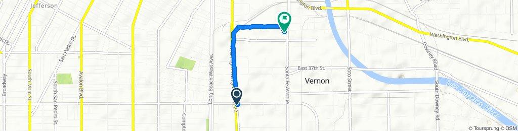 Steady ride in Vernon