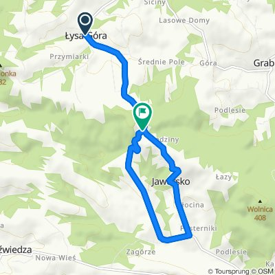 Lysa Gora Climb