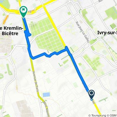 Itinéraire reposant en Le Kremlin-Bicêtre