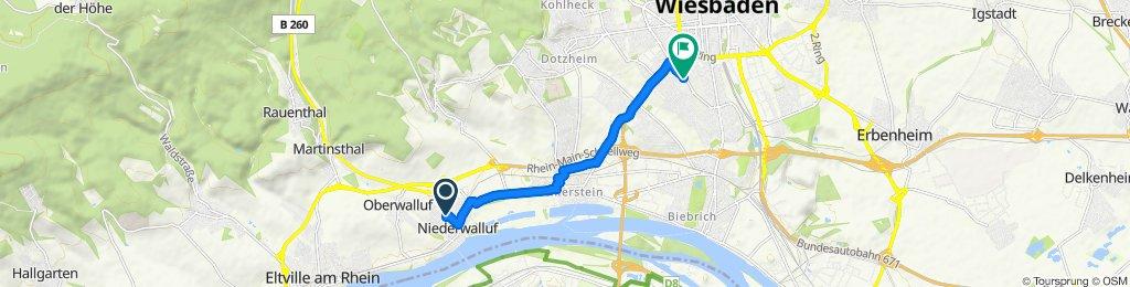 Slow ride in Wiesbaden