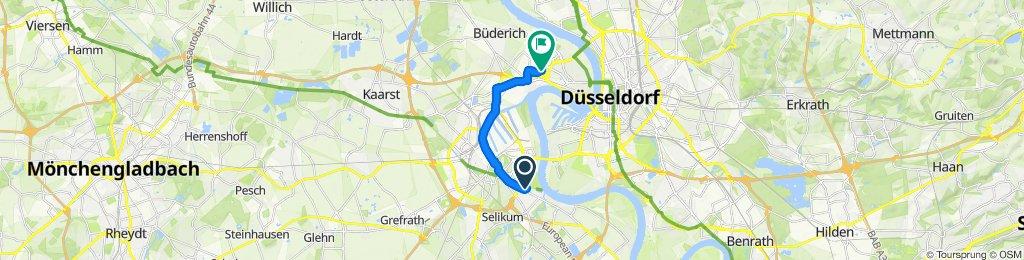 Schnelle Tour in Düsseldorf