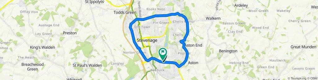 Restful route in Stevenage