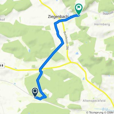 Parkweg 1–2, Iphofen to St2257, Markt Bibart