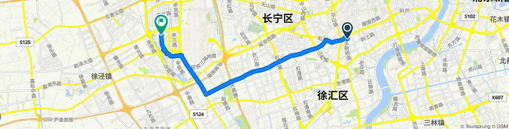 Moderate route in Shanghai the 16