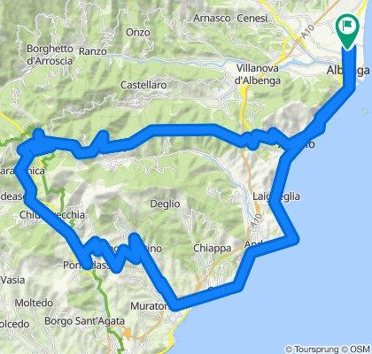 ALBENGA-ALBENGA(DA LOANO 15 KM +)