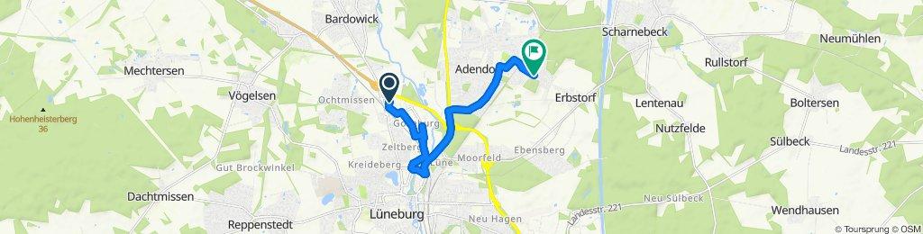 Gemütliche Route in Adendorf