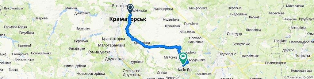 Легкий маршрут в Украина