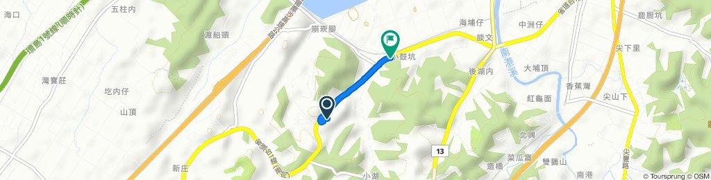 Relaxed route in Zaoqiao Township