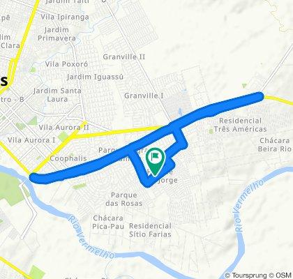 Passeio rápido em Rondonópolis