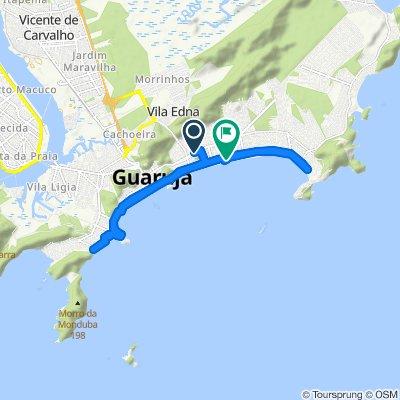 Passeio rápido em Guarujá