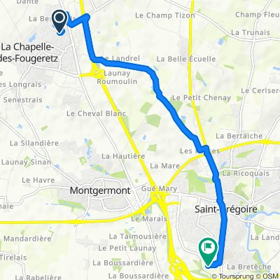 Route stable en Saint-Grégoire ´ Mme