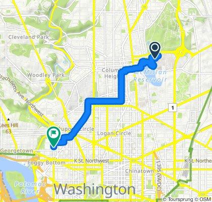 Restful route in Washington