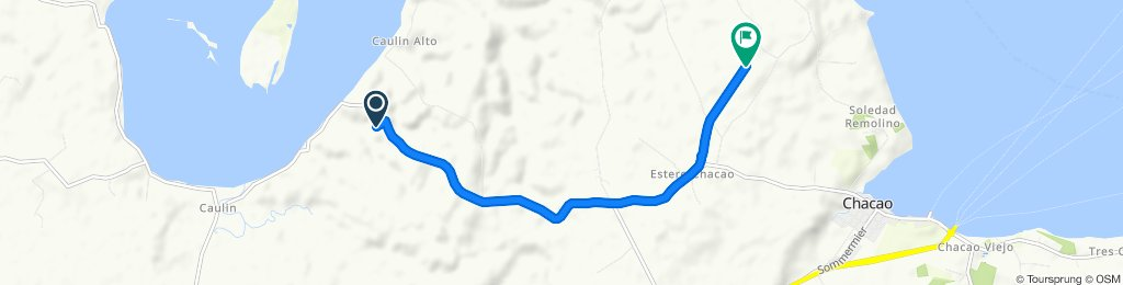 Ruta tranquila en Ancud