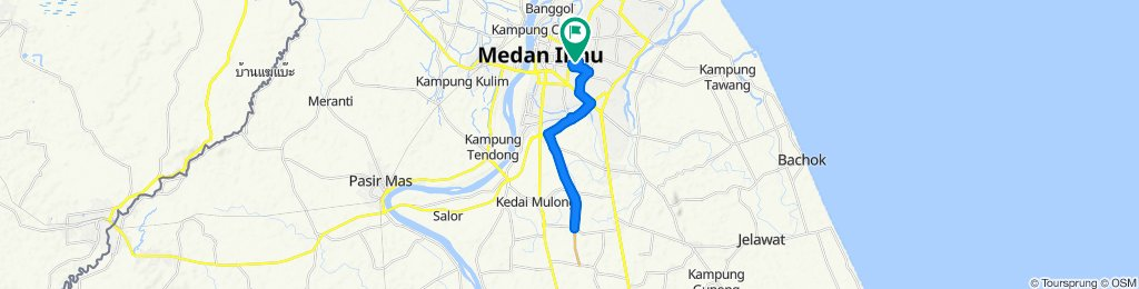 High-speed route in Kampung Setol