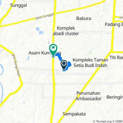 Steady ride in Kecamatan Medan Selayang