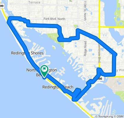 Gemütliche Route in Redington Beach