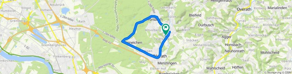 Gemütliche Route in Rösrath