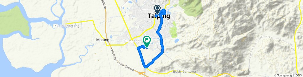 Fast ride in Taiping