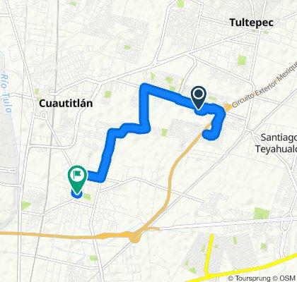 Paseo rápido en Tultitlán de Mariano Escobedo