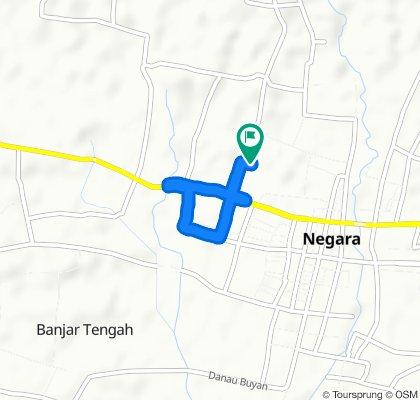 Slow ride in Kecamatan Negara