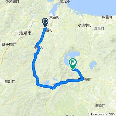 第七天單車行程 美幌-阿寒湖-雙湖台-雙岳台-摩周車站
