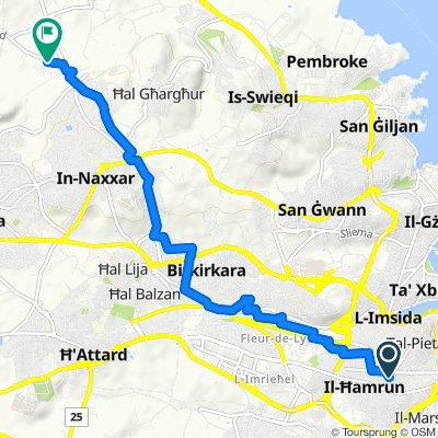 Giro velocissimo in Naxxar