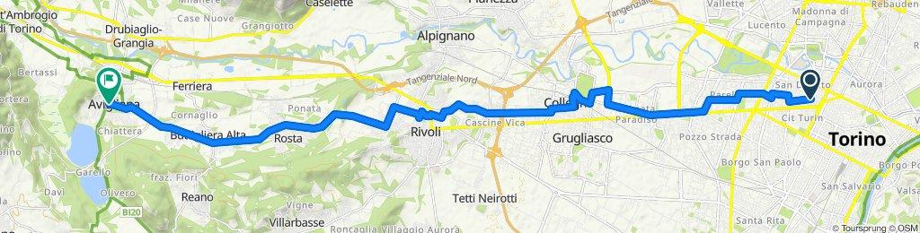 From Turin To Avigliana