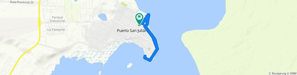 Ruta constante en Magallanes
