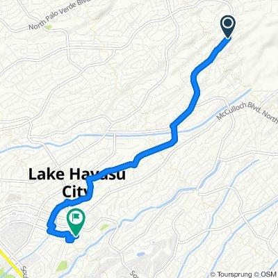 3780–3798 S Kiowa Blvd, Lake Havasu City to Magnolia Dr, Lake Havasu City