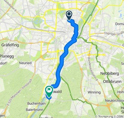 Arbeitsweg Grünwald