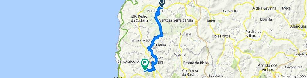PdR-Povoa de Baixo 21 km oneway