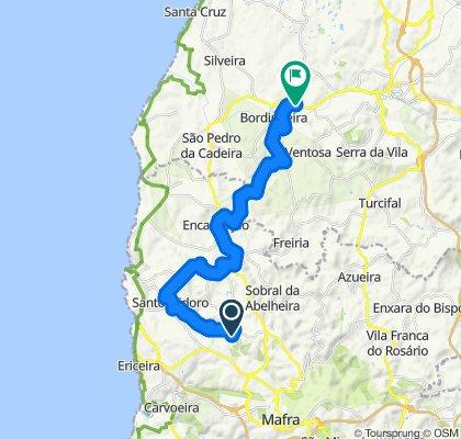 Povoa de Baixo-PdR 26 km return ride