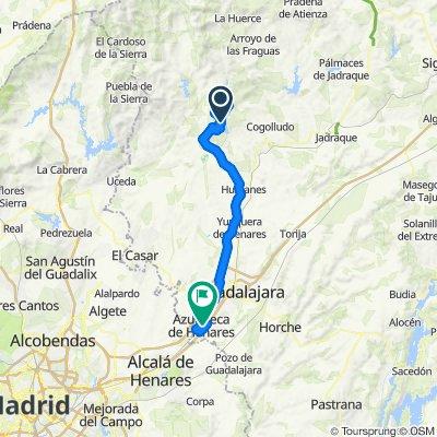 Paseo rápido en Azuqueca de Henares
