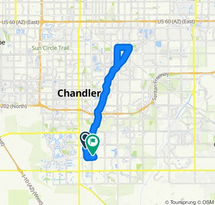 ride to downtown Gilbert