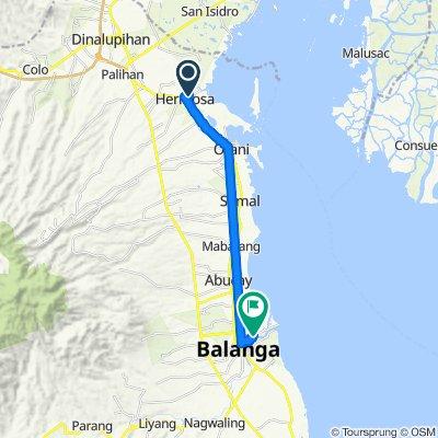 Blistering ride in City of Balanga