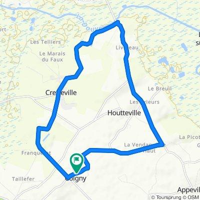 Route stable en Montsenelle