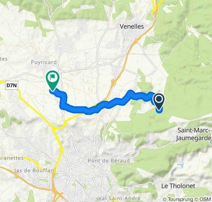Route stable en Aix-en-Provence
