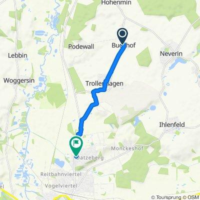 Entspannende Route in Trollenhagen