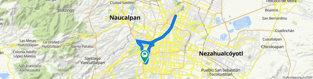 Ruta moderada en Ciudad de México