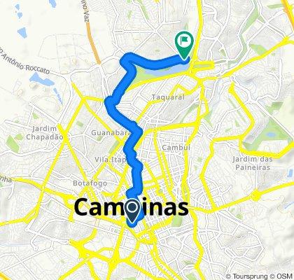 Rua José de Alencar, 545, Campinas to Avenida Doutor Heitor Penteado, 1671, Campinas